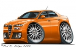 alfa romeo 159 orange