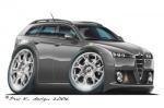 alfa romeo 159 SW gray