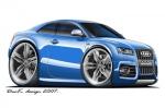 audi-S5-blue
