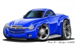 CHEVY SSR hard top 4
