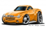 CHEVY SSR hard top 5