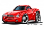 CHEVY SSR hard top 6