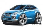 FORD FOCUS cartoon car02