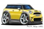 Mini Clubman cartoon car 7