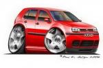 golf4 red
