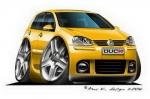 golf 5 yellow