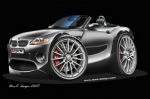 BMW-Z4-cartoon-car