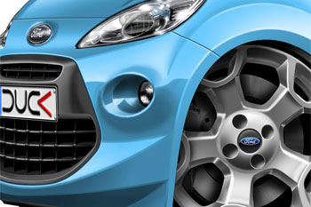 Ford KA cartoon car