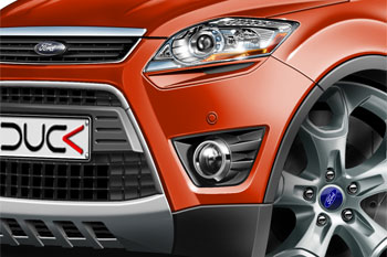 Ford KUGA cartoon car