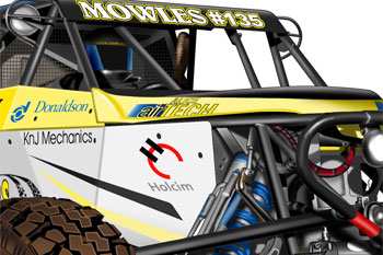Mowles racing buggy