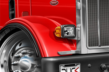 Peterbilt cartoon truck